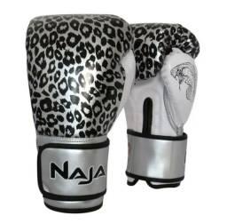 Luva Naja Zebra P/ Muay Thai / Boxe