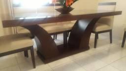 Título do anúncio: Mesa de jantar com 8 cadeiras 2.0 m