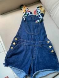 Macacão jeans Via direta 36