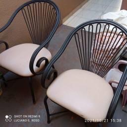 Título do anúncio: Cadeiras de ferro