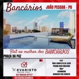 Título do anúncio:  bancários tem sofisticação, conforto e segurança em flat