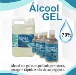 Álcool líquido e gel 70°