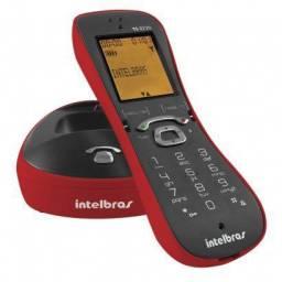 Telefone Sem Fio Intelbras TS 8220 Vermelho