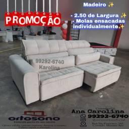 Título do anúncio: Sofa reclinavel \ Sofa retratil \