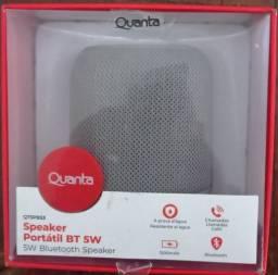 Caixa De Som Portátil Quanta Qtspb53 Bt 5w Cinza