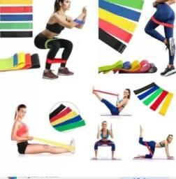 Título do anúncio: Elástico de exercício com 5