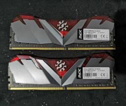Memória DDR4 Adata XPG Gammix D30 Red 16GB (2X8GB) 2666MHz