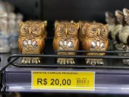 Título do anúncio: Corujinha decorativa 20 reais a unidade