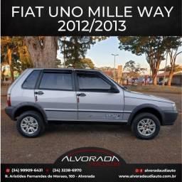 Fiat Uno Mille Way 1.0 - 2012/2013