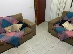 Vendo jogo de sofá retrátil