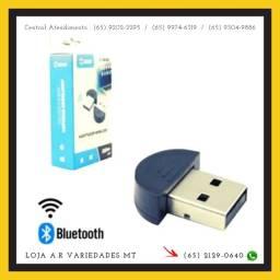 Adaptador E Receptor Usb Bluetooth 5.0 Plug And Play Pc Note