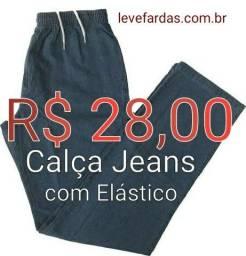 Título do anúncio: Calça Jeans com Elástico