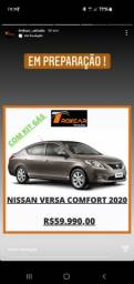 Título do anúncio: Versa 2020 com gnv ideal para Uber e 99 zap *