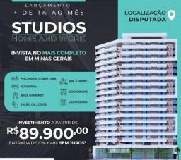 Título do anúncio: Studios modernos em Barbacena - Minas Gerais