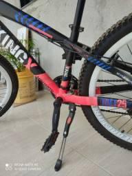 Bicicleta aro 26 quadro Garantia permanente de alumínio freio a disco