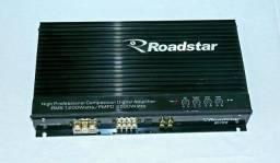 Amplificador Roadstar Rs 1200d Digital 2 Canais 2500w