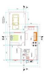 Casa em Humaitá 2 quartos bem localizada área com valorização crescente