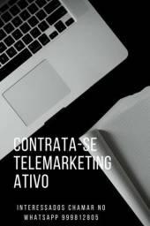 Telemarketing ativo capitação de clientes