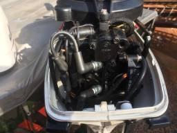 Canoa carreta motor - 2009