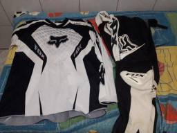 Conjunto Trilha Fox Preto/ Branco