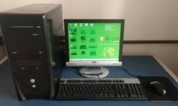 Computador completo básico para acessar internet e trabalhos escolares