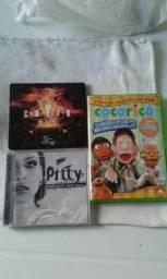 V/ CDs e DVD originais