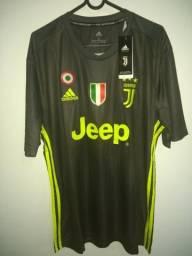 Camisa Juventus Third 2018/2019 Sem n° - Torcedor Adidas - Chumbo