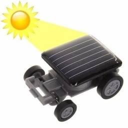 Mine carrinho movido a energia solar