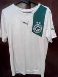 26e6185ea27 Camisa Goiás Ec Original Puma 2013 Branca Tam P