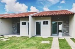 Casas no Eusebio 2 e 3 quartos entrada parcelada em 10 vezes sem juros