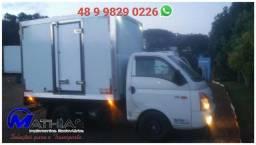 .Ref. 0758 Baú frigorífico para HR ou Bongo Mathias Implementos
