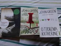Livros John Green e Marcus Zusac