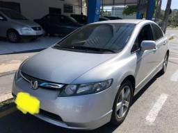 Civic lxs 2008 completo flex com multimídia nave ? - 2008