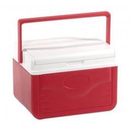 Caixa térmica Cooler Coleman 5 litros vermelha