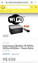 Impressora Brother Wi-Fi Hl-1212 NOVA 110w