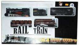Locomotiva brinquedo ferrorama trem