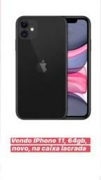 Vendo iPhone 11 novo na caixa lacrada