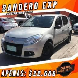 Sandero 2013 1.6 Exp - Completo - Preço Black Friday!! Carro Com Qualidade!! - 2013