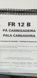 Catálogo peças, manual, Ad7b, Uniport, FG85, FR12, FB80, 70ci, FH200, 4CT
