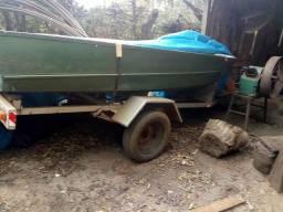 Barco motor e carretinha - 2012