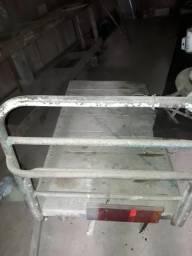 Carro plataforma de ferro .leia abaixo