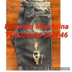 Bermuda jeans TNG masculina usada