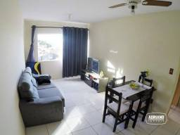 Apartamento com 1 dormitório a 5 minutos do Centro de Florianópolis à venda, 43 m² por R$