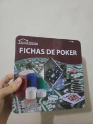 Vendo fichas de poker home mania novo