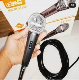Microfone profissional com fio Lelong