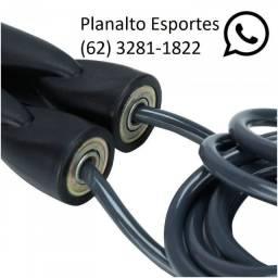 Corda Pular PVC Rolamentada R$ 29,90- Cordinha pular ZAP 3281-1822