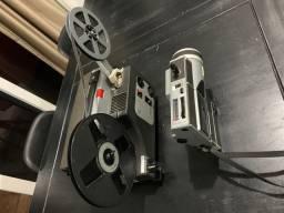 Filmadora e Projetor de filmes 8 mm sankyo dual lux