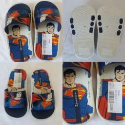 Chinelo Infantil Ipanema Liga Da Justiça Slide - Superman (NOVO)