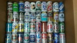 Coleção latas antigas