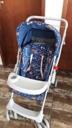 Carrinho e bebê conforto kit